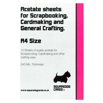 A4 Acetate - Pack of 10 Sheets